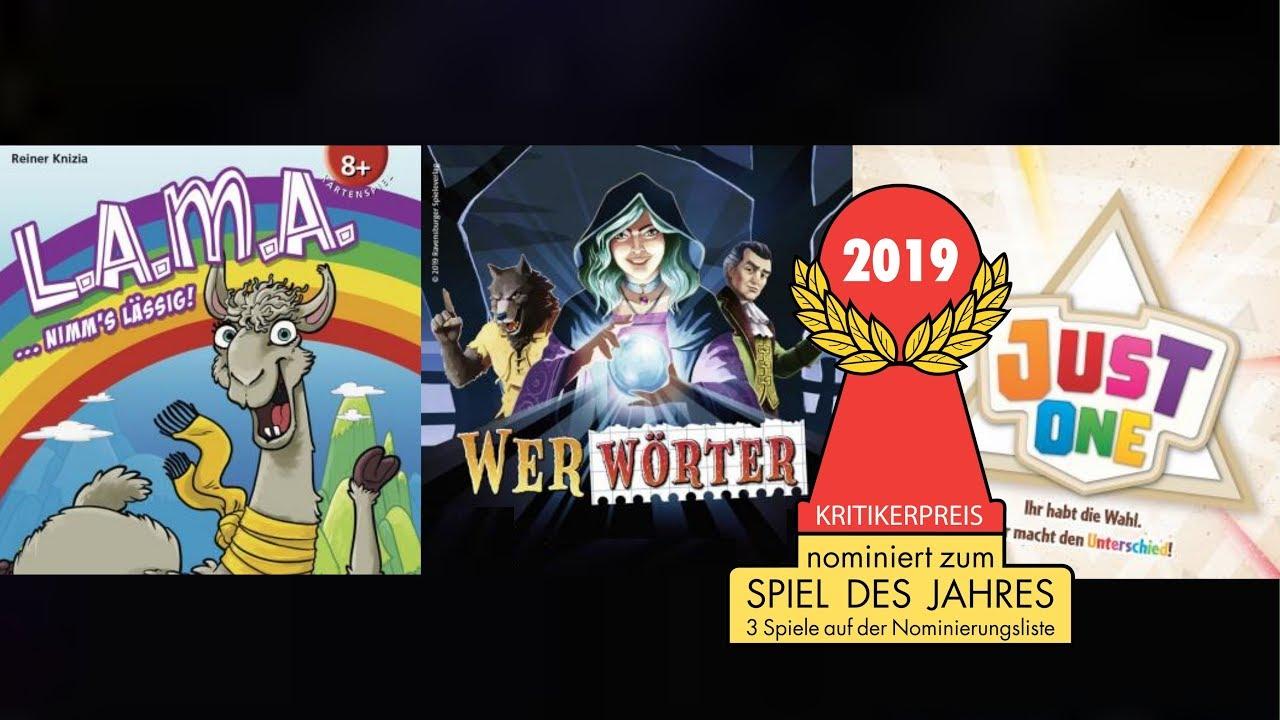 Spiel Des Jahres 2021 Nominierungen