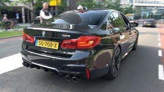 BMW M5 F90 Exhaust Sounds Revs & Accelerations!