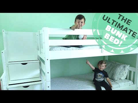 Bedz King Stairway Bunk Bed with Trundle Review! | Most Affordable Bunk Bed!