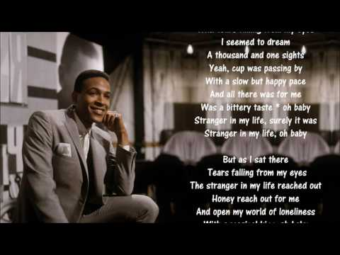 Marvin Gaye *☆* Stranger In My Life *☆* Lyrics