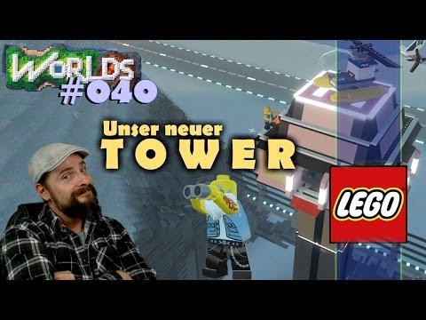 Lego Worlds deutsch ✈ 040: Flughafengelände & neuer Tower auf Wautschcatraz 🚁 german gameplay