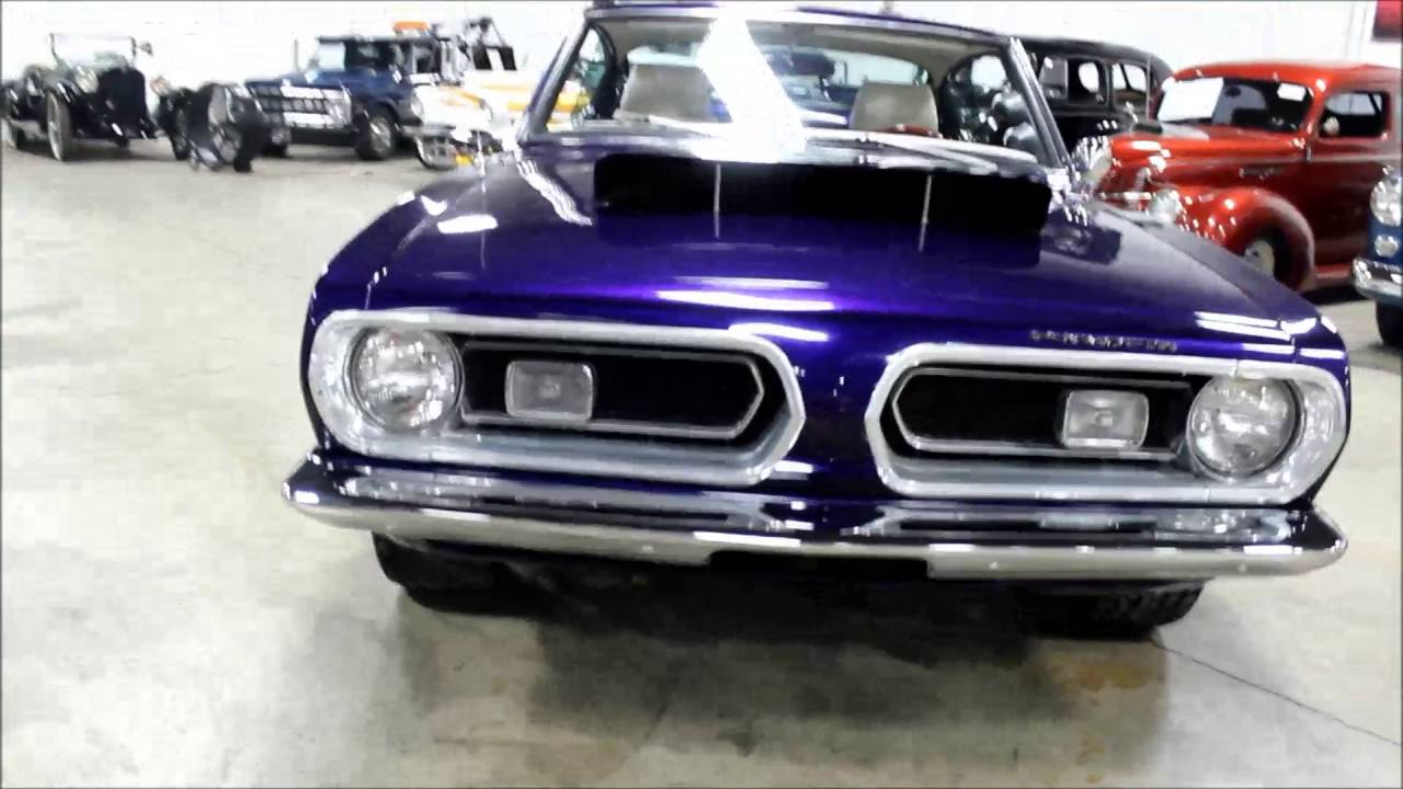 1968 plymouth barracuda youtube. Black Bedroom Furniture Sets. Home Design Ideas