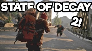 State of Decay 2 Gameplay #2 - Scavenging Weapons and Gear!