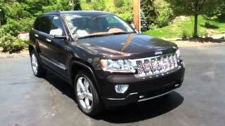Craig Dennis' Exclusive 2012 Jeep Grand Cherokee Overland Summit 4X4 Dealer Deals Near Pittsburgh.