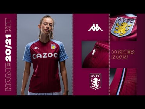 Aston Villa. HOME KIT. 20/21. UNVEILED!