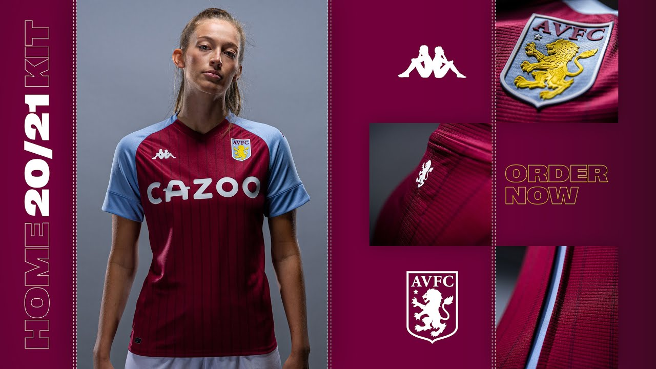 Aston Villa. HOME KIT. 20/21. UNVEILED!