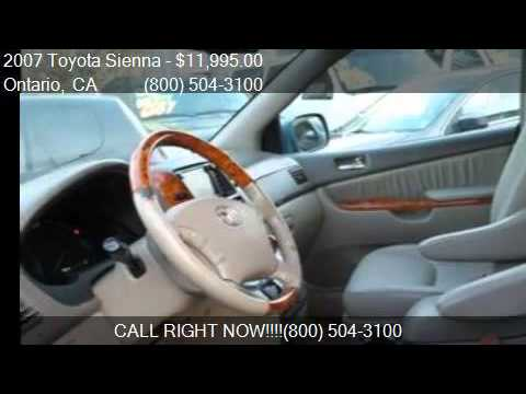2007 Toyota Sienna XLE Limited 7-Passenger For Sale In Ontar