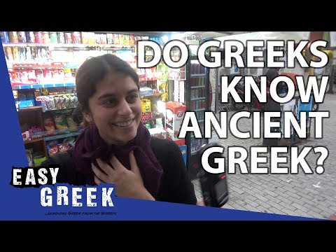 Do Modern Greeks Know Ancient Greek? | Easy Greek 12