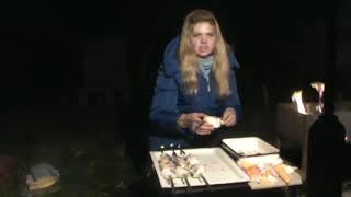 """""""Шашлык из рыбы с яблочным соусом"""" рецепт"""