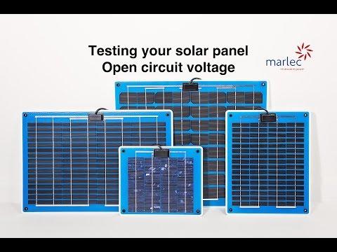 Testing Your Solar Panel
