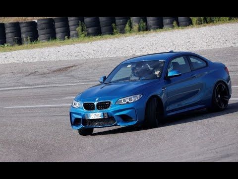 BMW M2 hot laps and drift @ Autodromo di Franciacorta
