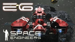 Space Engineers Multiplayer - E06 - Ship taking shape again