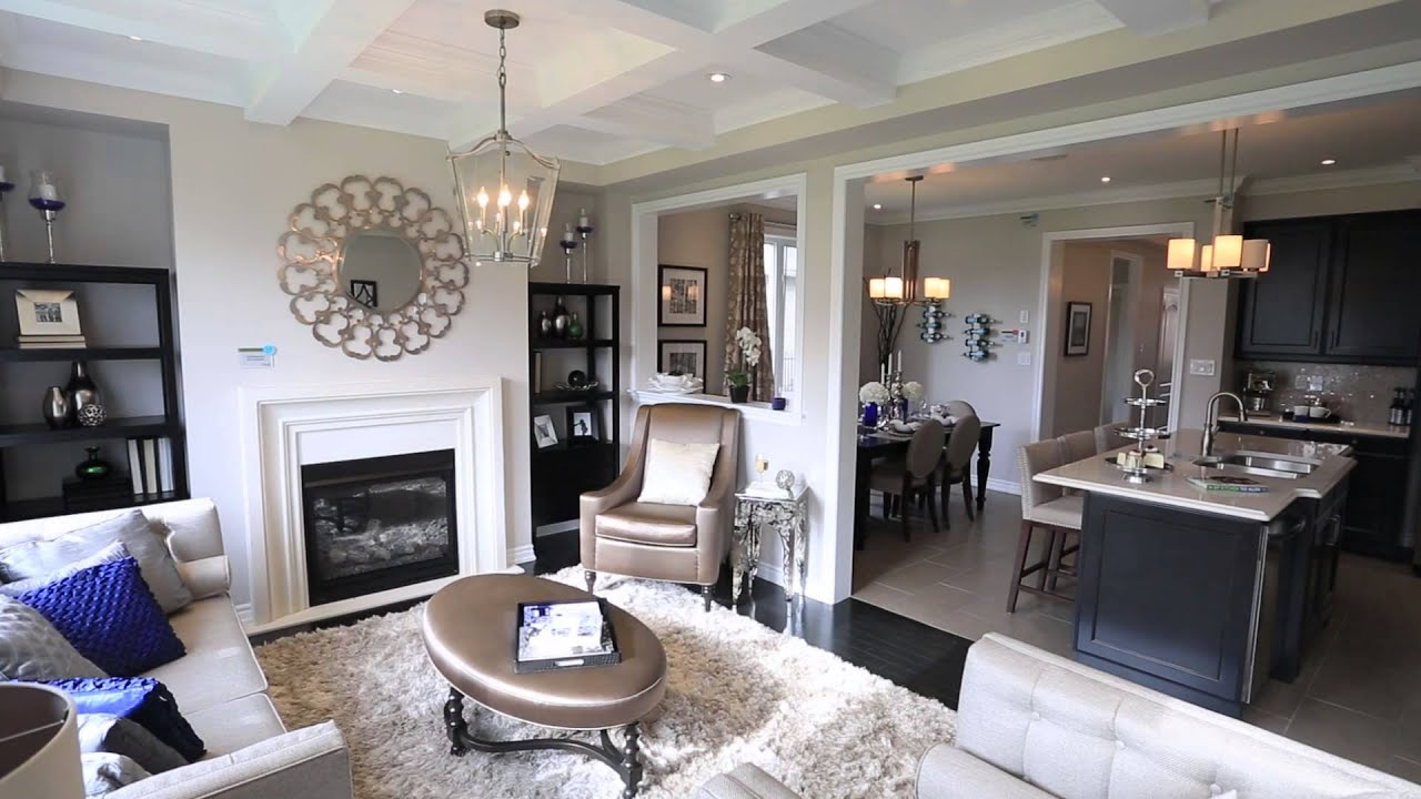 Bristol model home at wyndfield in brantford youtube for Photos of model homes