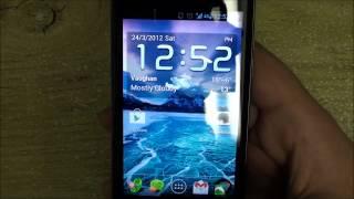 LG G2X with Ice Cream Sandwich, EaglesBlood Build 3
