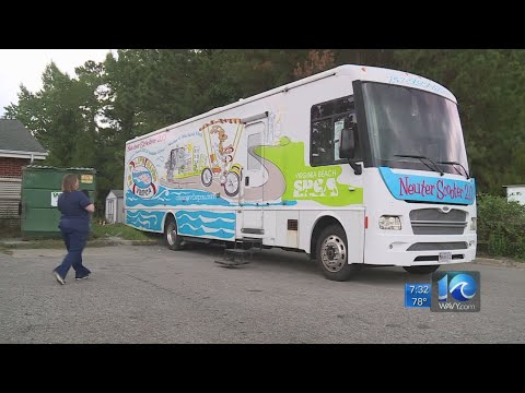 Virginia Beach SPCA Takes Pet Health On The Road With The 'Neuter Scooter'