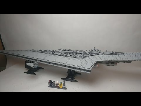 Speed build LEPIN 05028 UCS Super Star Destroyer LEGO Knocko