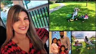 Rambha's happy family - Playing with her cute kids video !!| TamilCineChips