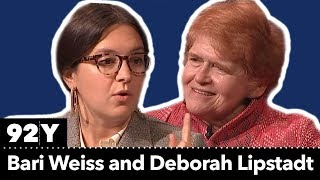 Bari Weiss and Deborah Lipstadt discuss the rise of antisemitism at home and abroad