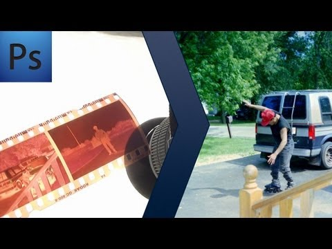 Photoshop: Film Negatives to Positives