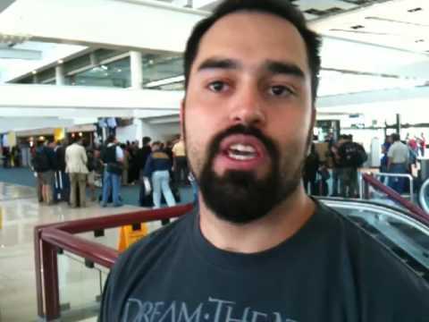 Santiago Airport Dream Theater FAN!
