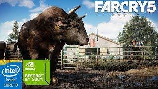 Far Cry 5 on GeForce GT 930M 2GB - Intel Core i3 4005U - 10GB RAM [ASUS A455LF]