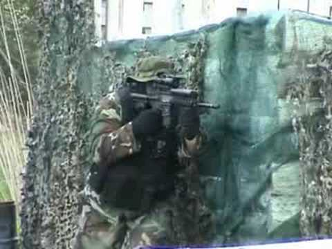Airsoft game in Haderslev