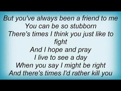 Garth Brooks - A Friend To Me Lyrics