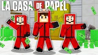 LA CASA DE PAPEL no MINECRAFT !! - BedWars