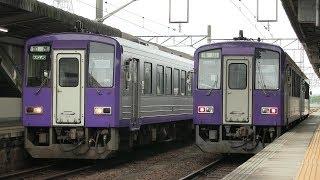 JR関西本線 亀山駅 キハ120形