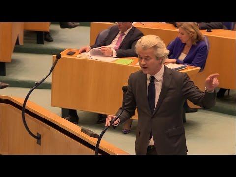 Geert WILDERS vs. Mark RUTTE in debat verkiezingsuitslag