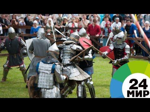 Средневековый бой: россияне