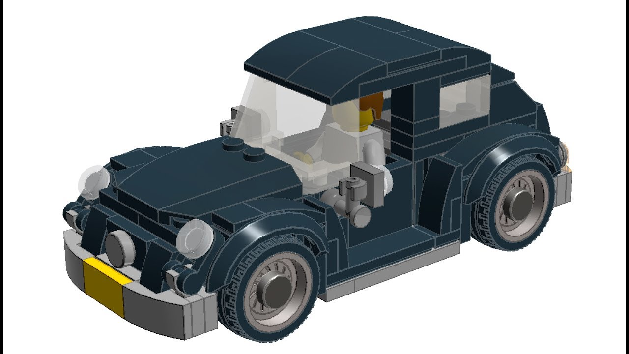 how to build custom lego vw beetle youtube. Black Bedroom Furniture Sets. Home Design Ideas