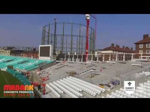 The Kia Oval - Kennington - Milbank Concrete Products