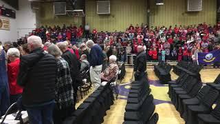 Heavener school Veterans Day program 2018