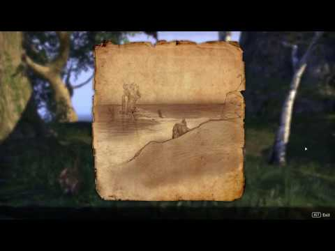 The Elder Scrolls Online | Betnikh Treasure Map 1 LOCATION & Where To Find  Betnikh! (HD)