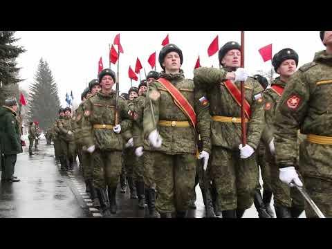 Тренировки парада в Екатеринбурге: 32 военный городок и ул.Новосибирская
