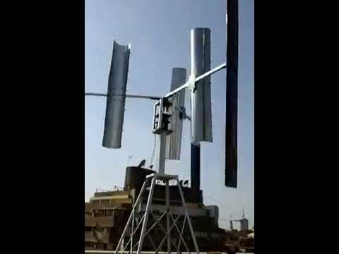 hybrid vertical wind turbine ( TORNADO CATCHER) , Egypt توربينه رياح