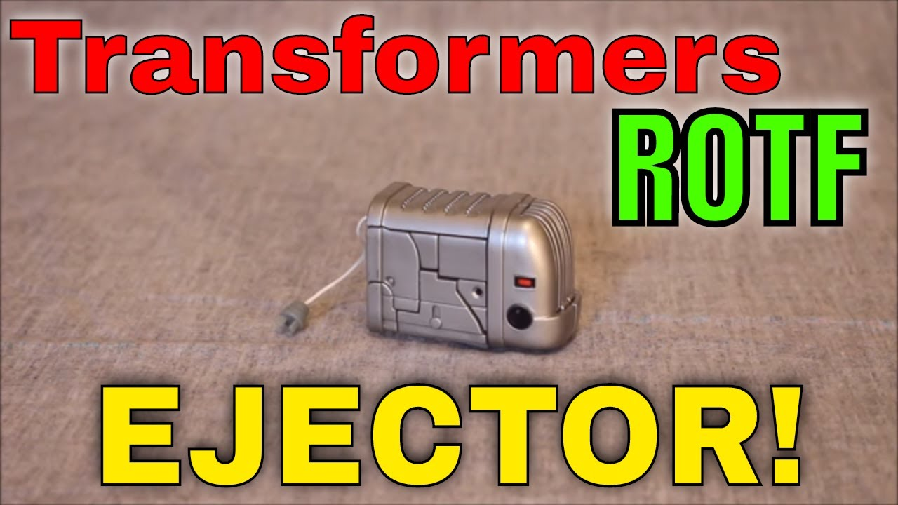 Do I Smell Evil, Burnt Toast? Transformers ROTF Ejector! by GotBot