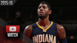 Paul George Full Highlights at Bulls (2015.11.16) - 26 Pts, 7 Reb