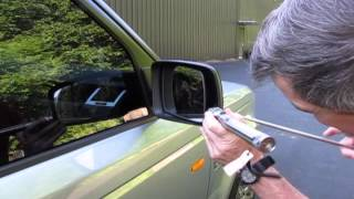 Side Mirror Glass Replacement On A Range Rover Sport, LR2, LR3 And Full-Size Range Rover