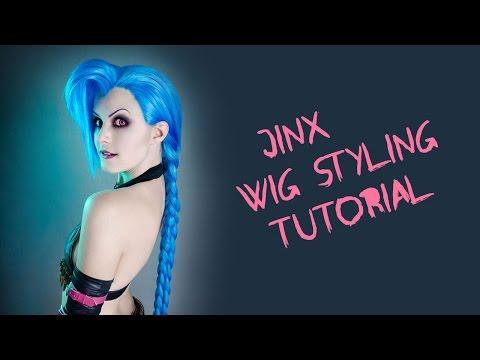 Jinx Wig Styling Tutorial