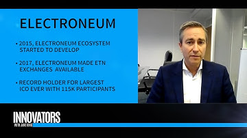 Electroneum (ETN) | The Mobile Based Cryptocurrency | CEO Richard Ells | Innovators with Jane King