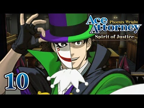 REAL MAGIC - Let's Play - Phoenix Wright: Ace Attorney: Spirit of Justice - 10 - Playthrough