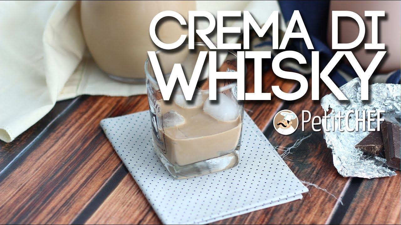Ricetta crema di whisky bimby