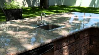 Juparana Colombo Granite Outdoor Bar Tops By Marble.com