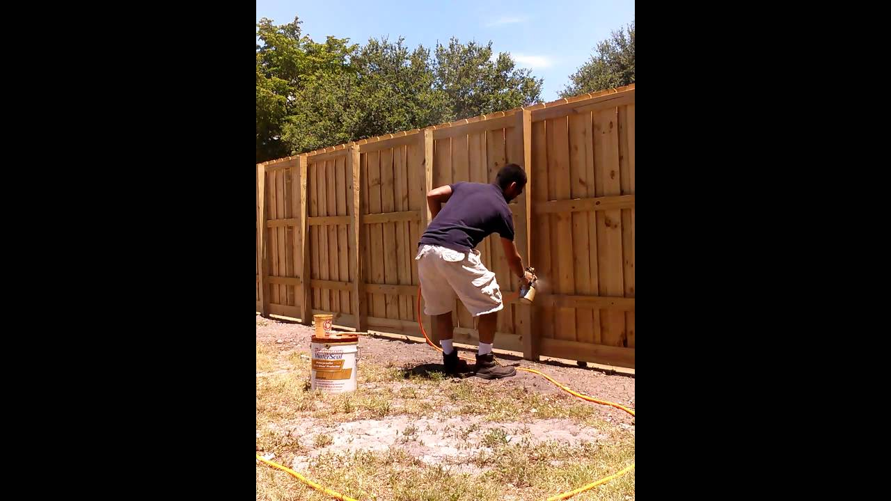 Waterproofing Wood Protector Clear Fence