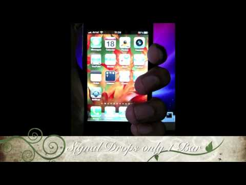 iPhone 4 Reception Issues Not in India..!!