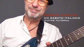UN SABATO ITALIANO TUTORIAL - Sergio Caputo