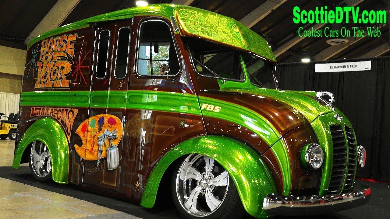 1954 Divco Custom Milk Truck House Of Kolor Grand National Roadster Show  2018