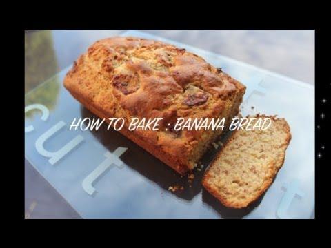 how-to-bake-:-banana-bread